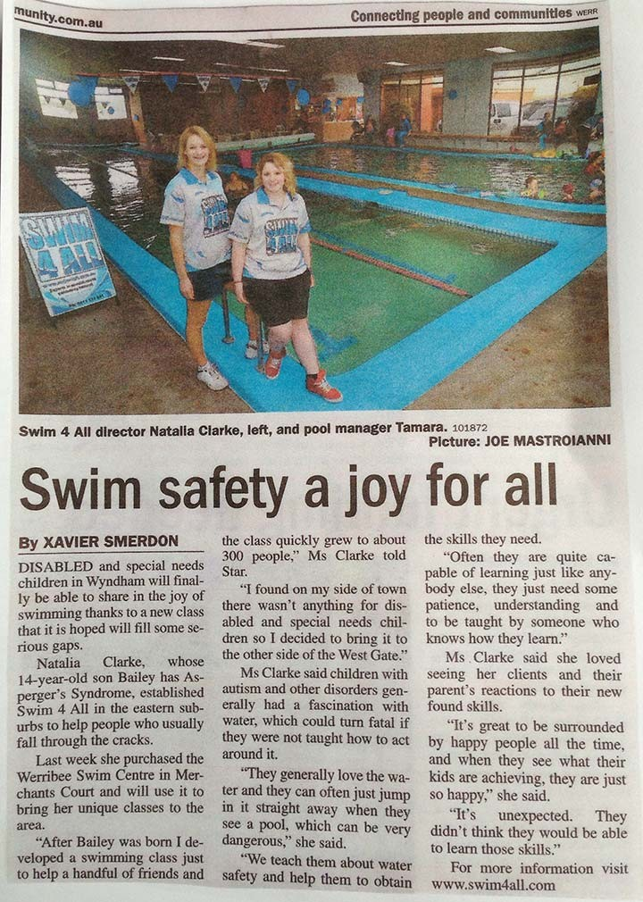 Swim safety a joy for all